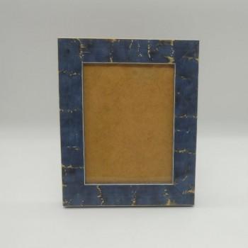 ref.070422-L-AZ - Moldura espuma - grande - azul -vertical