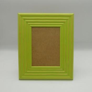 ref.070423-L-VP - Moldura frisada - grande - verde pistacchio - vertical