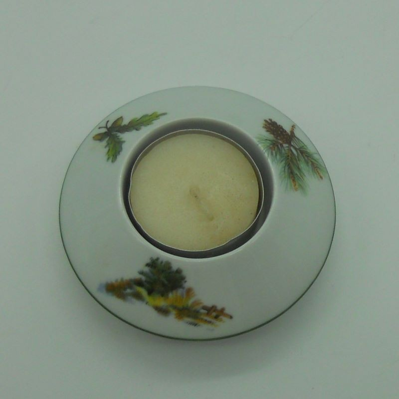"""code 800059D-P-N3 - Tealight holder - campo/""""countryside"""" - set of 2"""