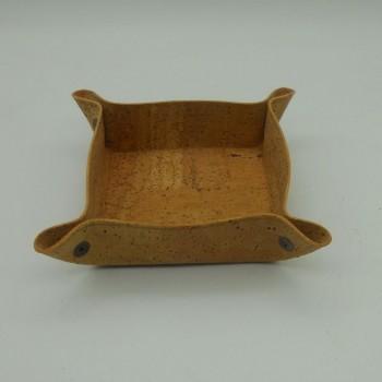 ref.VK-8987-Esvazia bolsos mini em pele de cortiça