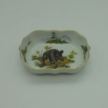 code 800081D-T-J - Rectangular bowl/Ashtray - boar