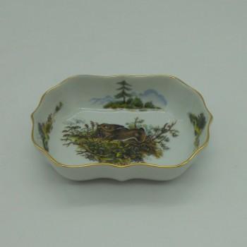 code 800081D-T-C2 - Rectangular bowl/Ashtray - hare