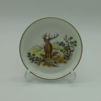 code 800094D-V1 - Appetizer plate - rutting stag