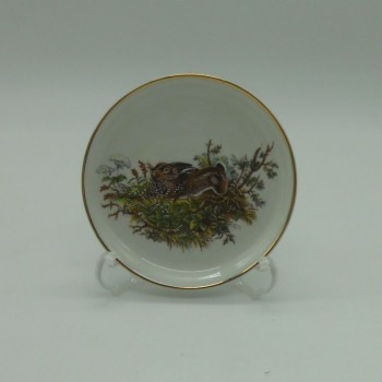 code 800094D-C2 - Appetizer plate - hare