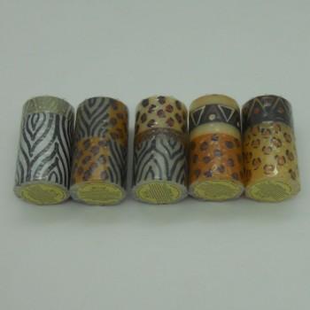code 049019 - Pillar 610 ap candle - set of 5 (assorted)