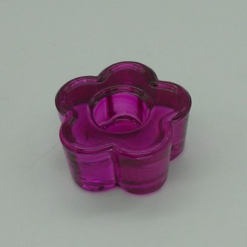 ref.015208-VI-Castiçal flor - violeta- conjunto de 2