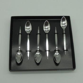 ref.033032 - Colher de café  - Tiffany - conjunto de 6