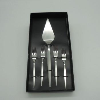 code 033023 - Cake shovel and 4 forks set