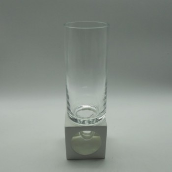 ref.002012-BR - Jarra com base cerâmica - branca