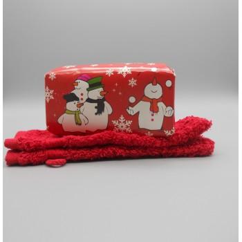 ref.P-BN-Conjunto para banho - Boneco de neve