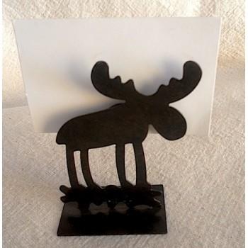 code 032017 - Moose place card-holder