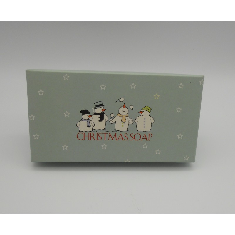 ref.048013- Soap box - 2x80gr Christmas Soap