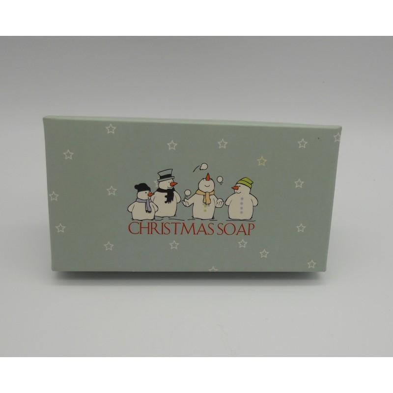 ref.048013- Caixa sabonetes 2x80gr Christmas Soap