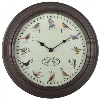 code DCT-FB416- Birds sounds wall clock