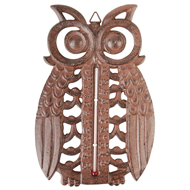 code  DCT-TT185- Thermometer - Owl