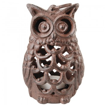 code DCT-TT186-  candle holder / tealight - Owl