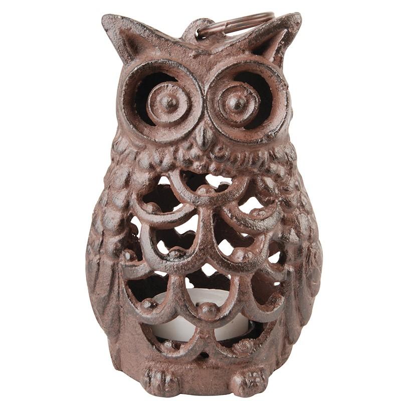 code DCT-TT186-  candle holder / tealight - Owl