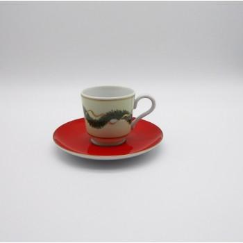 ref.150001/02/03/04/08/28-2P - Chávena de café com pires -  Noël