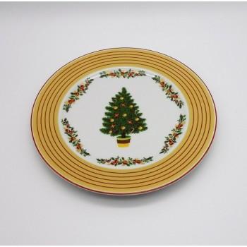 ref.800403/800405- prato sobremesa - Feliz Natal