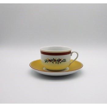 ref.800403/800405- chávena chá e pires - Feliz Natal