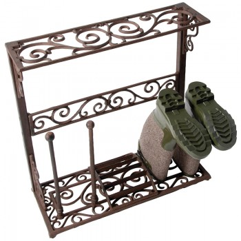 Code-LH58 - Cast iron bootrack - small