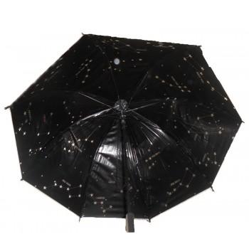 ref.DCT-Tp243 -Chapéu de chuva - Estrelas - No interior constelações