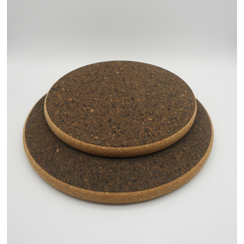 "ref. VK-1203/04-HD-20-Conjunto 2 bases redondas ""Sandwich Black"" - grandes"