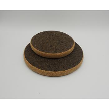 "ref. VK-1201/02-HD-20-Conjunto 2 bases redondas ""Sandwich Black"" - pequenas"