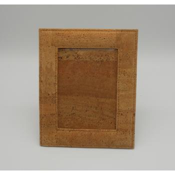 ref.VK-8887-B-Moldura em pele de cortiça - Fotos 15 cm