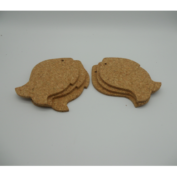 code VK-1206FI- Set of 6 coasters  - fish