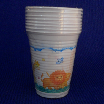 code 073401- Paper tumbler Noah's Ark  - set of 8