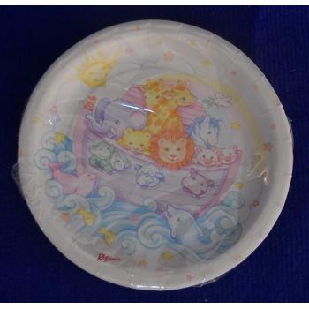 code 073400- Paper plate Noah´s Ark - set of 8